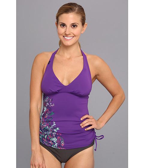 Costume de baie Lole - Jamaica Tankini Top - Island Purple Paisley Print