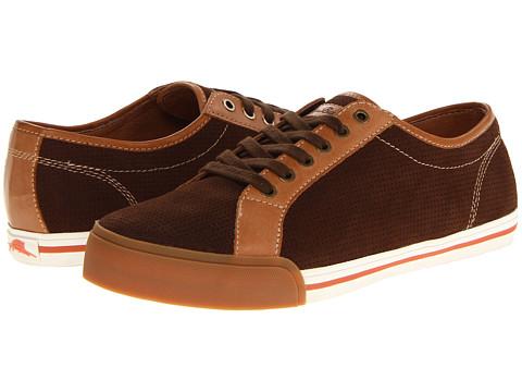 Pantofi Tommy Bahama - Borneo Lace-Up - Dark Brown Suede
