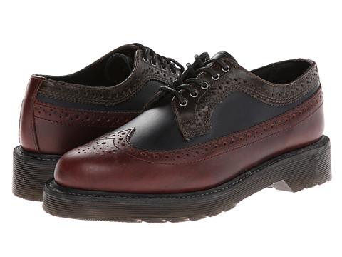 Pantofi Dr. Martens - Alfred Brouge Shoe - Charro/Navy/Green Brando