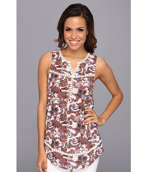 Bluze Lucky Brand - Floral Print Tunic - Multi