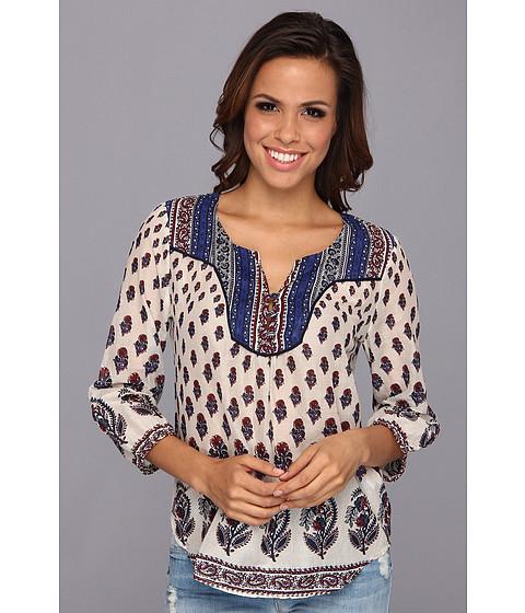 Bluze Lucky Brand - Indian Cotton Boho - Natural Multi