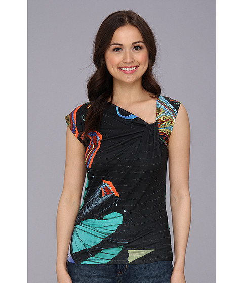 Bluze Desigual - Maria T-Shirt - Negro