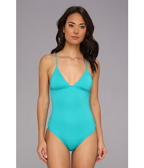 Costume de baie Volcom - Simply Solid Solid One Piece - Teal
