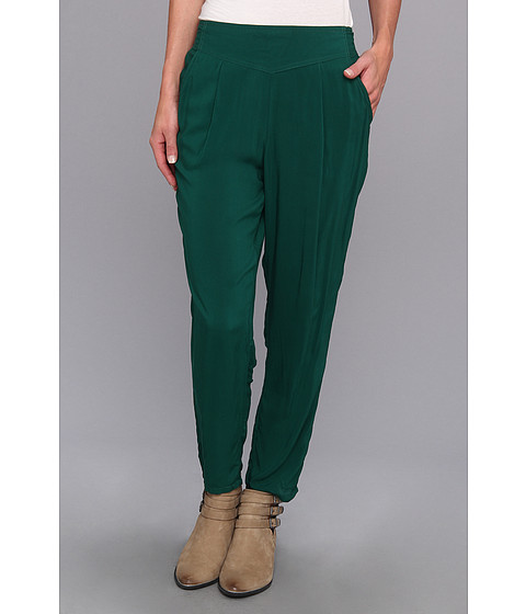 Pantaloni Free People - Solid Easy Pleat Pant - Emerald