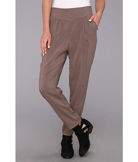 Pantaloni Free People - Solid Easy Pleat Pant - Stone