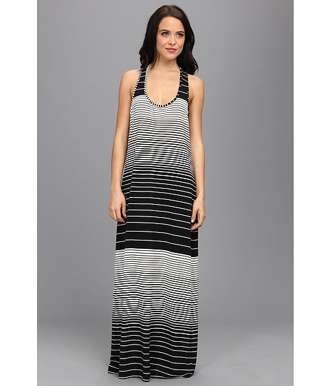 Costume de baie La Blanca - Finishing Touch Maxi Dress - Black/White