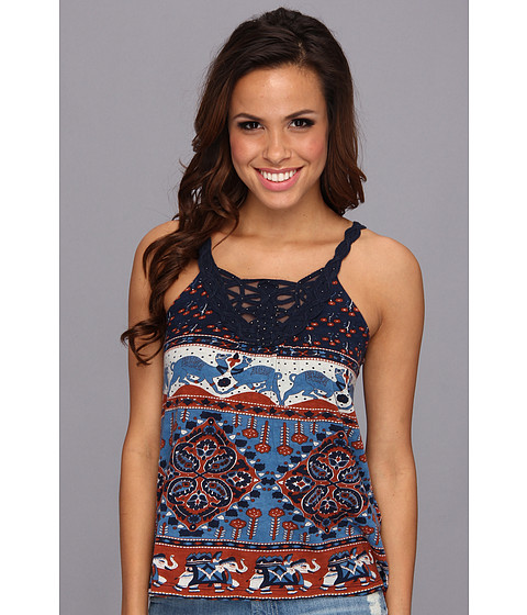 Bluze Lucky Brand - Elephant Bazaar Top - Multi