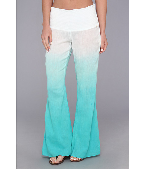 Costume de baie Roxy - Gauze Bell Bottoms Cover Up - Light Jade