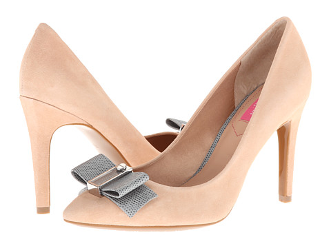 Pantofi Isaac Mizrahi New York - Lillie - Natural/Grey Suede