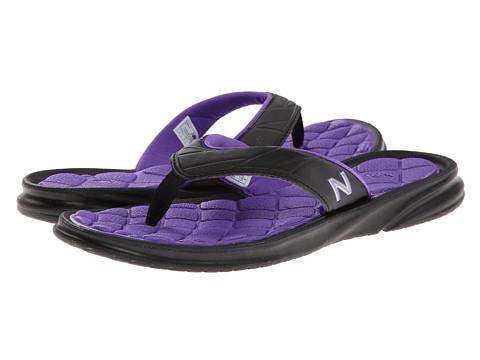 Sandale New Balance - Rev II Thong - Black/Purple