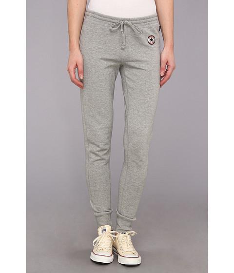 Pantaloni Converse - Core French Terry Cuffed Bottom Pant - Grey Heather
