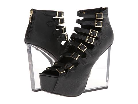 Pantofi Penny Loves Kenny - Crackle - Black Matte