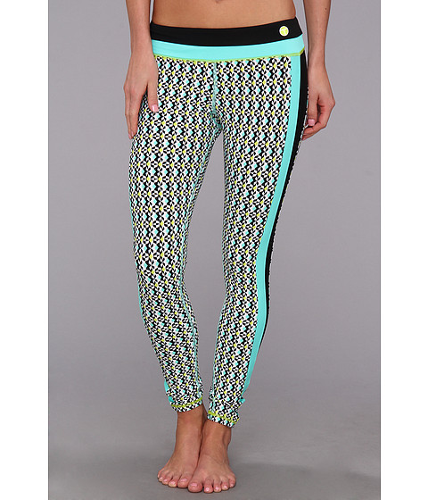 Pantaloni Trina Turk - Full-Length Leggings - Seafoam