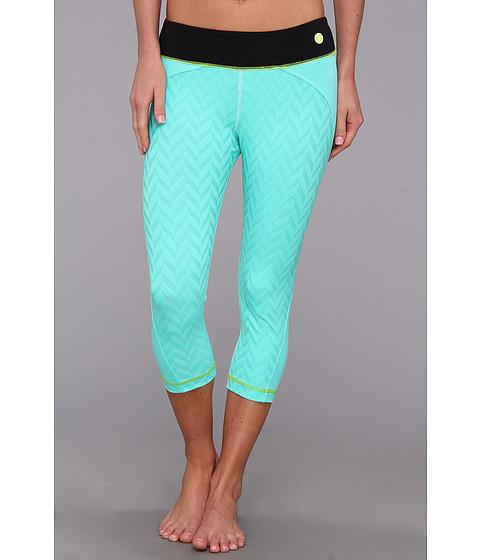 Pantaloni Trina Turk - Mid-Length Leggings - Seafoam