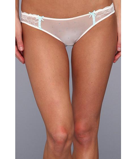 Lenjerie Betsey Johnson - Dot & Lace Bikini 721707 - Pearl