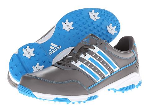 Adidasi adidas - Golflite Traxion - Iron/Running White/Solar Blue
