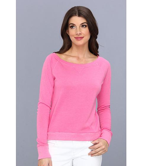 Bluze C&C California - L/S Wide Sweatshirt - Shocking Pink
