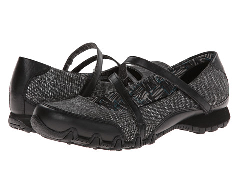 Adidasi SKECHERS - Bikers - Ethereal - Black/Silver