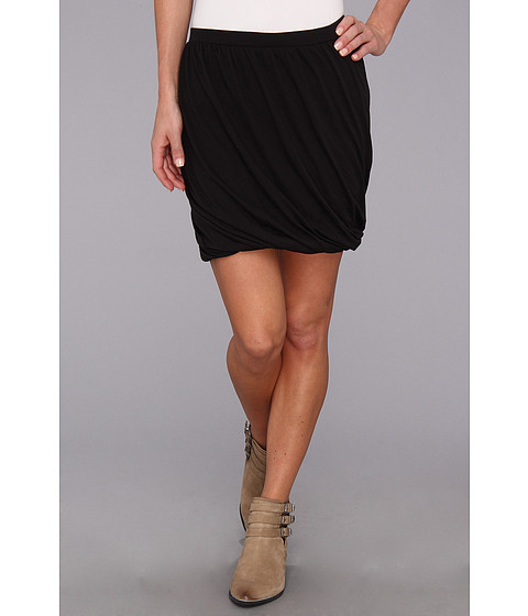 Fuste Free People - Twisted Bubble Skirt - Black Combo