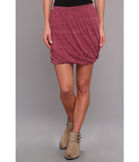 Fuste Free People - Twisted Bubble Skirt - Cranberry