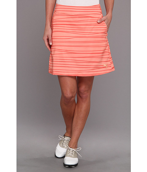 Fuste PUMA - Line Print Skirt - Desert Flower/Hot Coral
