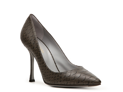Pantofi Sergio Rossi - Reptile Embossed Pointed Toe Pump - Multicolor