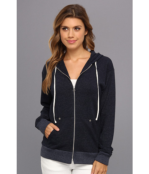 Bluze C&C California - Vintage Zip Hoodie - Navy