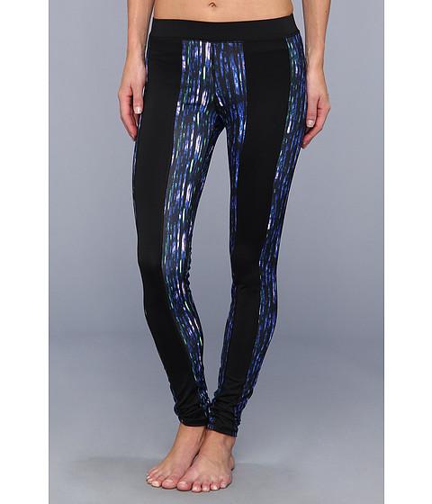 Pantaloni C&C California - Exceed Leggings Night Glow - Liquid Cobalt