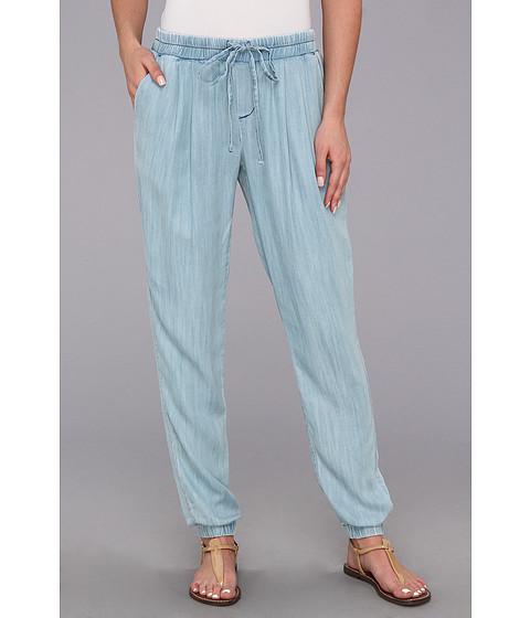 Pantaloni C&C California - Textured Chambray Pant - Chambray Multi