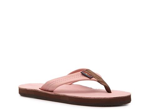 Sandale Rainbow - Thick Strap Flip Flop - Dusty Pink