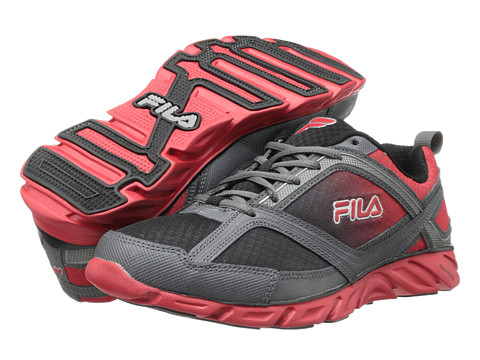 Adidasi Fila - Memory Stride 2 - Black/Dark Silver/Fila Red