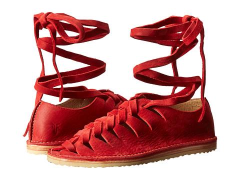 Sandale Frye - Holly Gladiator - Red Nubuck