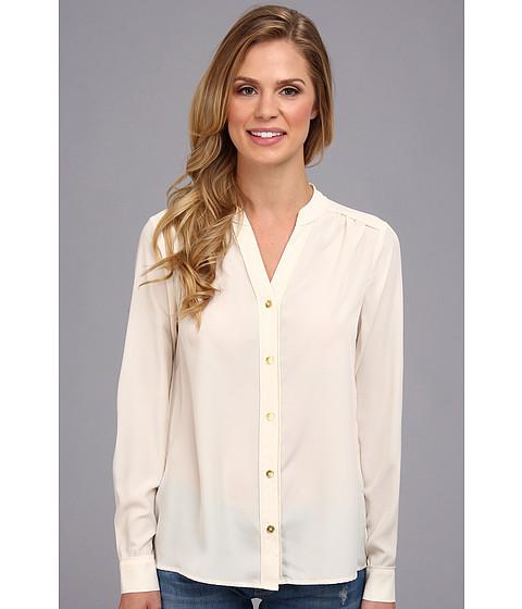 Bluze Jones New York - Soft Blouse w/ Roll Sleeve Tab - Shell