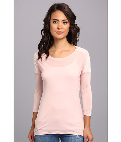 Bluze Brigitte Bailey - Chiffon Back Top - Pink