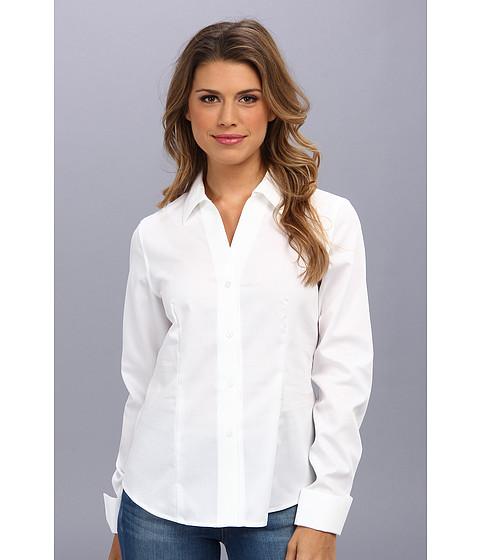 Camasi Jones New York - Long Sleeve Button Up Shirt - White