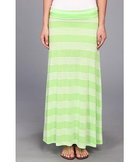 Fuste Brigitte Bailey - Stripe Maxi Skirt - Lime