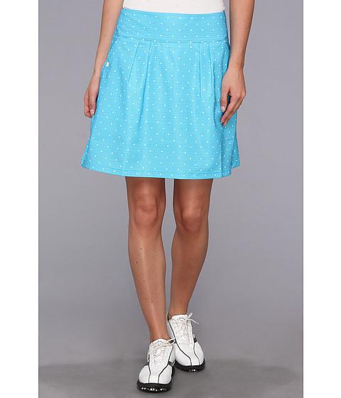 Pantaloni adidas - CLIMACOOLÃ'® Dot Print Skort \14 - Solar Blue/White