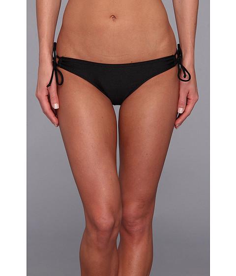 Costume de baie Fox - Skinz Keyhole Side Tie Bikini Bottom - Black