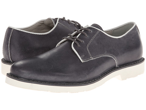 Pantofi GBX - 4 Eye Plain Toe Pipe - Charcoal