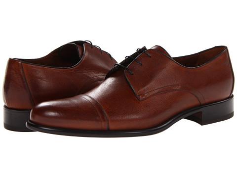 Pantofi A. Testoni - Cap Toe Oxford - Caramel