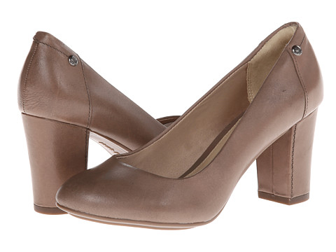 Pantofi Hush Puppies - Sisany Pump - Taupe Leather