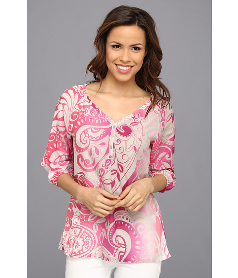 Bluze Tommy Bahama - Paisley Tied Top - Cherry Pink