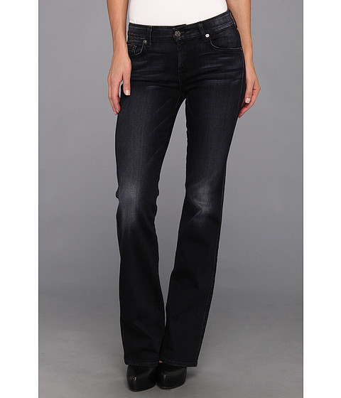 Blugi 7 For All Mankind - Kimmie Bootcut In Grey/Black - Grey/Black