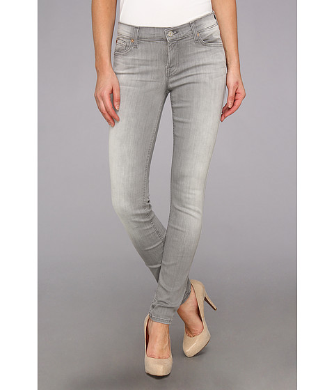 Blugi 7 For All Mankind - The Skinny in Slim Illusion Spring Grey - Slim Illusion Spring Grey