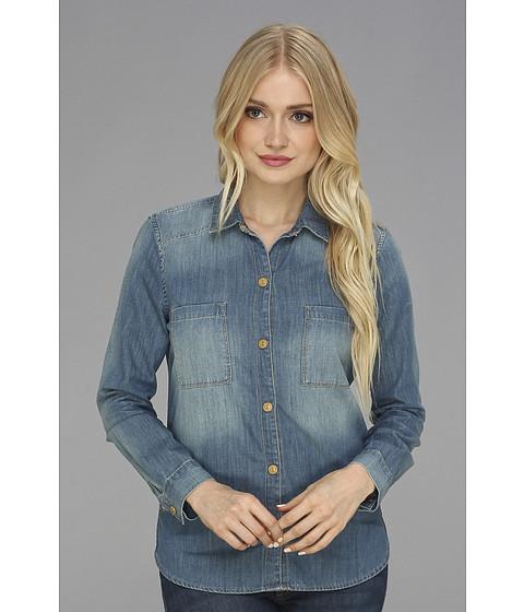 Bluze 7 For All Mankind - Slim Western Shirt in Silverlake Indigo - Silverlake Indigo