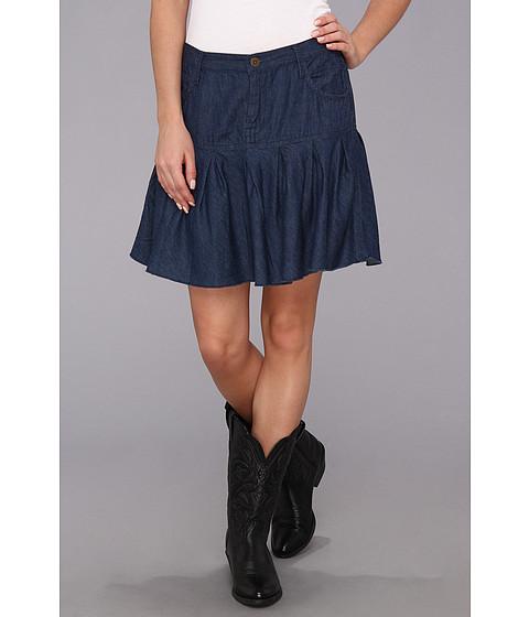 Fuste Roper - 9059 5 Oz Indigo Denim Skirt - Blue