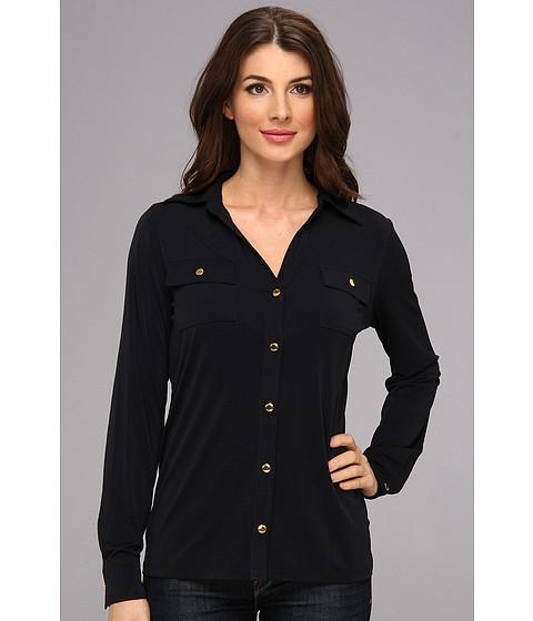 Camasi MICHAEL Michael Kors - L/S Snap Shirt - Navy