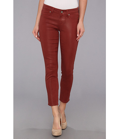 Blugi Paige - Verdugo Crop in Redwood Silk Coating - Redwood Silk Coating