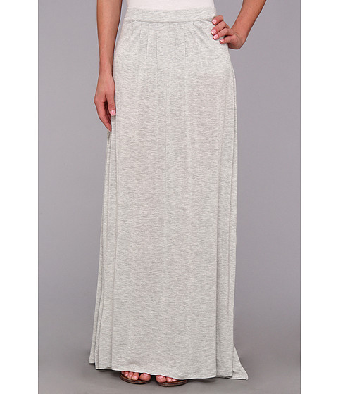 Fuste Vince Camuto - Jersey Maxi Skirt - Grey Heather