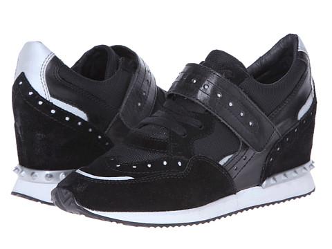 Adidasi Ash - Detox Ter - Black Calf Suede/Refl
